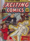 Cover For Exciting Comics 25