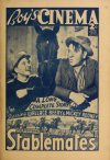 Cover For Boy's Cinema 997 Stablemates Wallace Beery Mickey Rooney