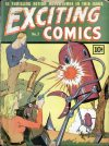 Cover For Exciting Comics 3