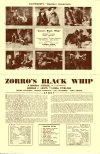 Cover For Zorro's Black Whip Pressbook