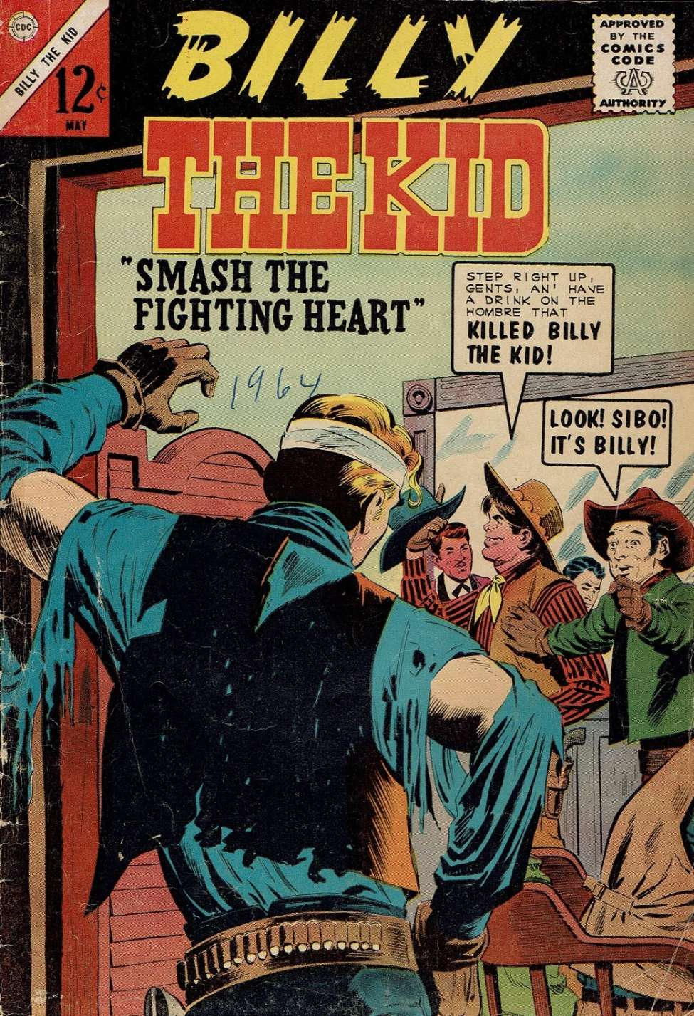 Comic Book Cover For Billy the Kid #45
