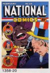 Cover For National Comics 20