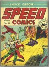 Cover For Speed Comics 11