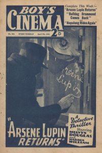 Large Thumbnail For Boy's Cinema 0956 - Arsene Lupin Returns starring Melvyn Douglas