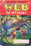 Cover For Web of Mystery 21