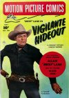 Cover For Motion Picture Comics 104 Vigilante Hideout
