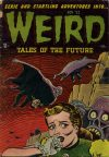 Cover For Weird Tales of the Future 4