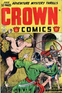 Large Thumbnail For Crown Comics #19