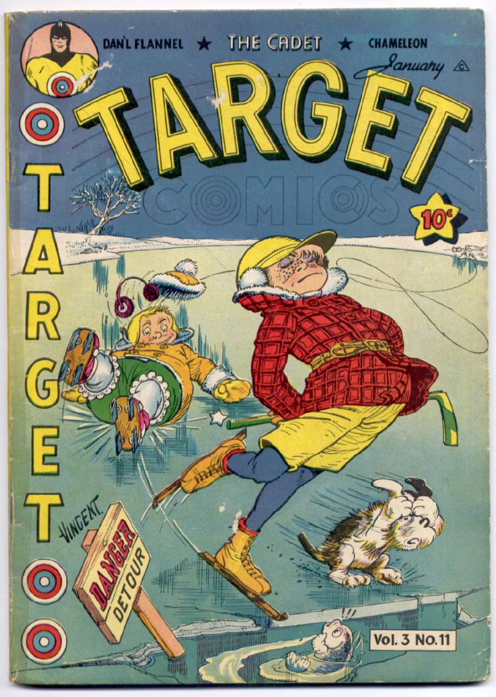 Comic Book Cover For Target Comics v3 11 [35]