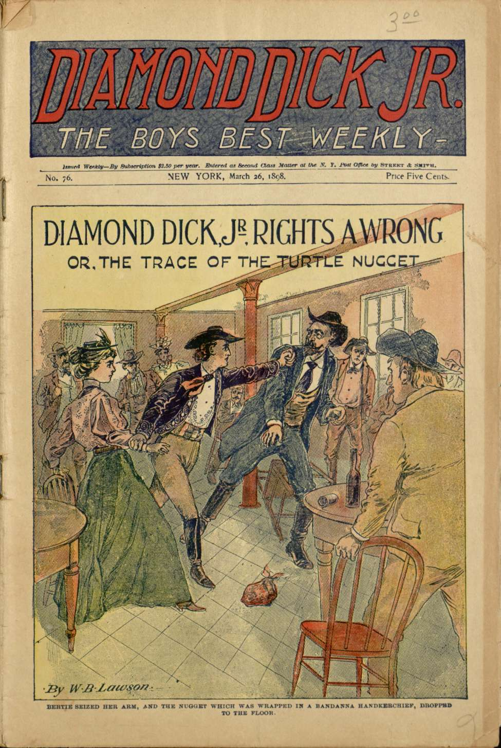 Comic Book Cover For Diamond Dick, Jr. 0076