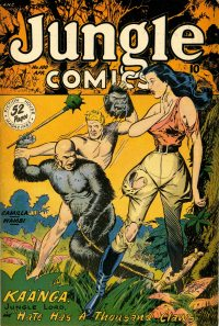 Large Thumbnail For Jungle Comics #100