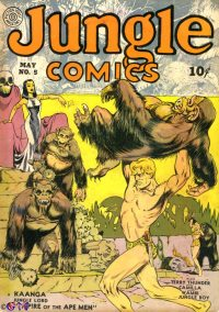 Large Thumbnail For Jungle Comics #5 - Version 1