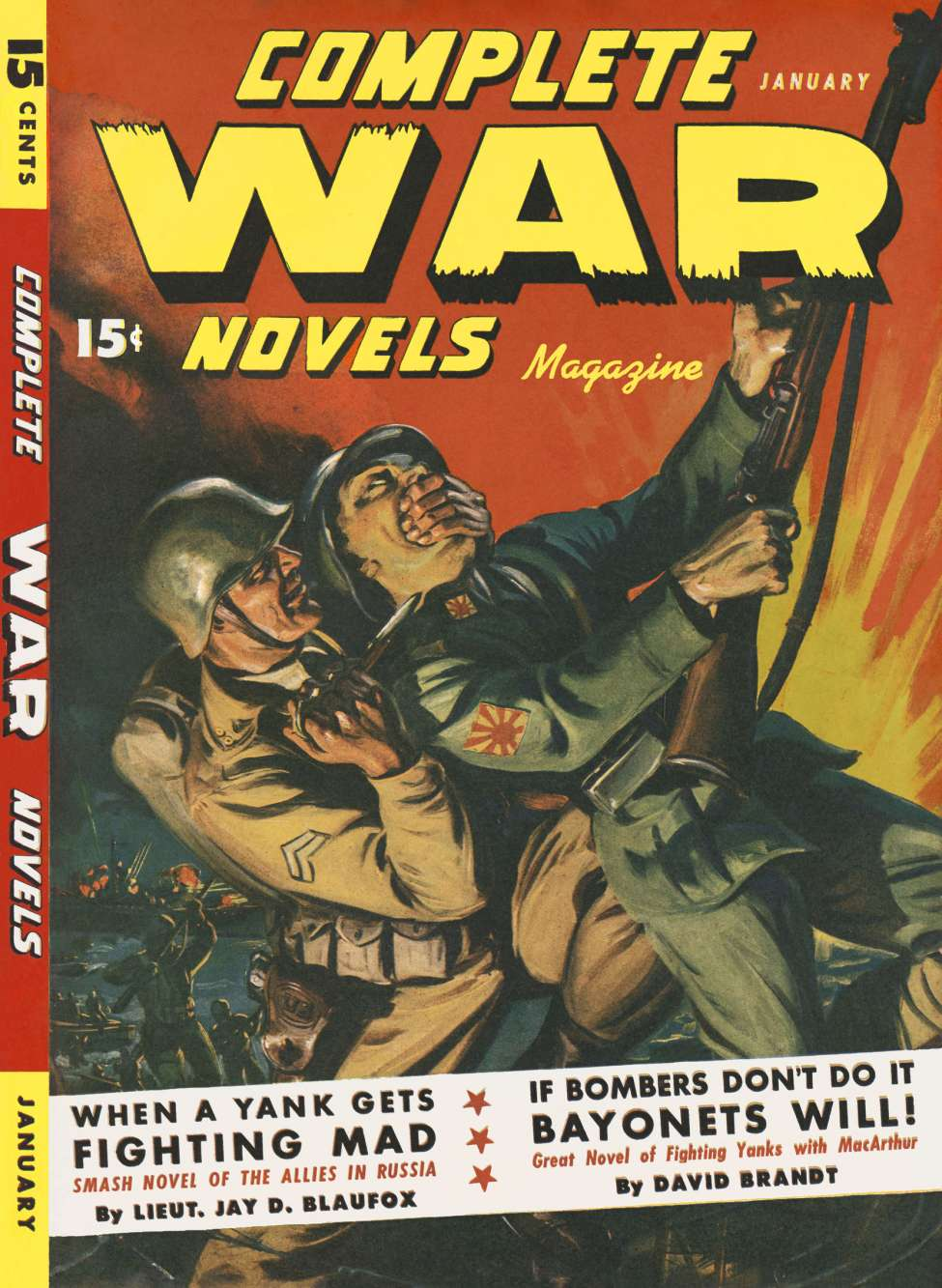 Comic Book Cover For Complete War Novels Magazine v01 03