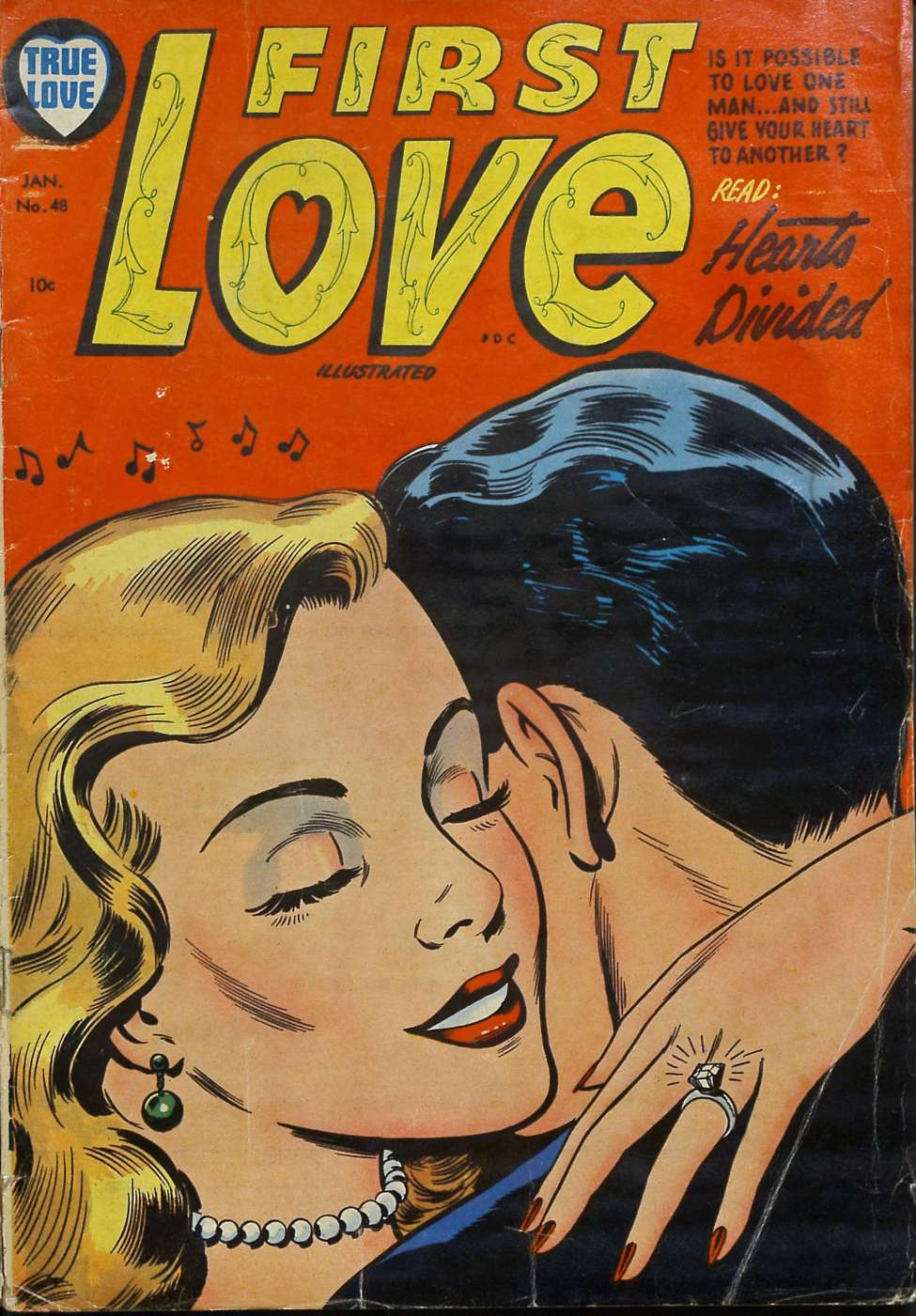 Comic Book Cover For First Love Illustrated #48