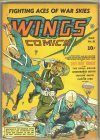 Cover For Wings Comics 21