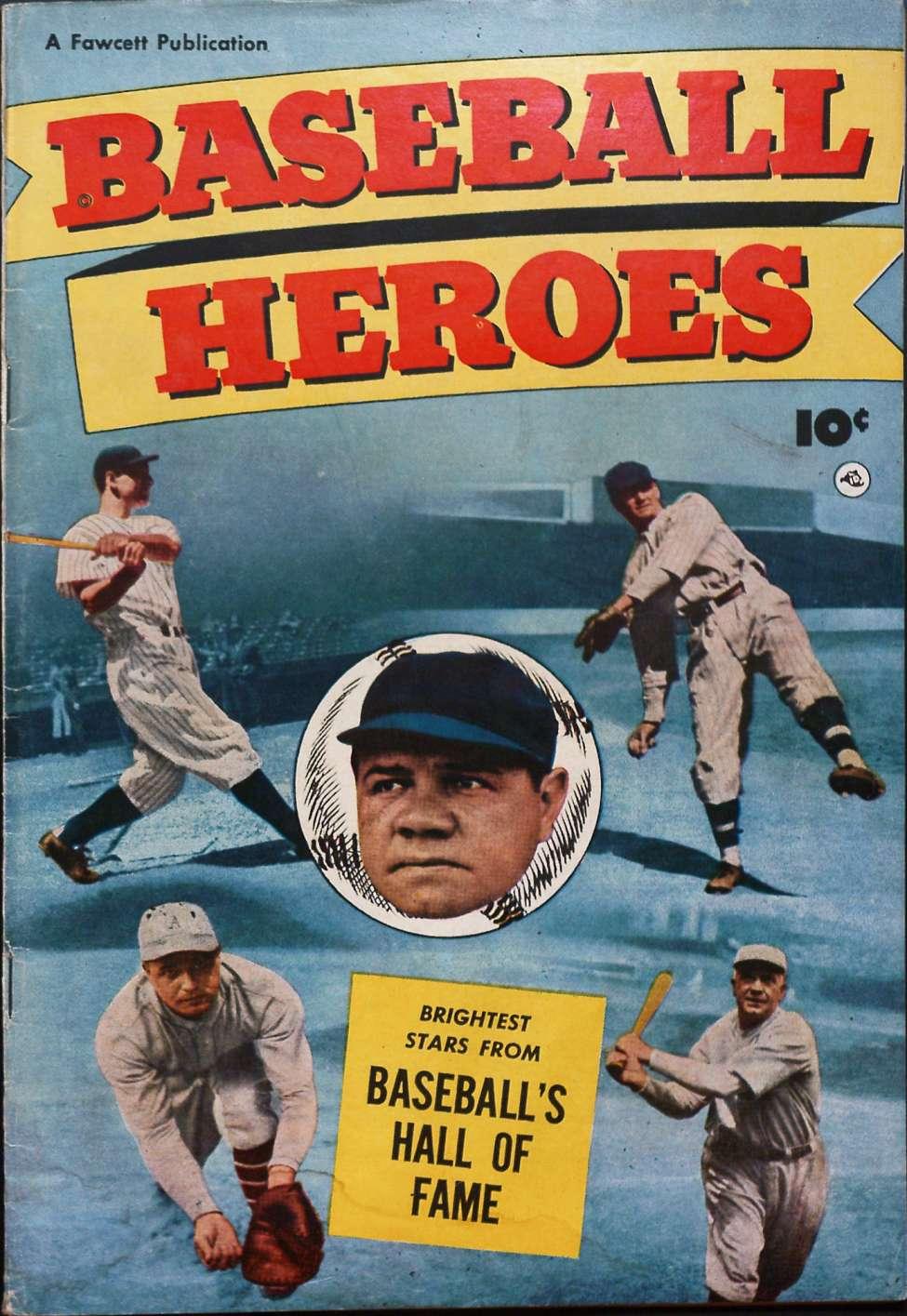 Comic Book Cover For Baseball Heroes [nn]