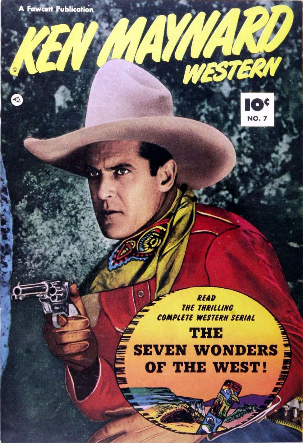 Comic Book Cover For Ken Maynard Western #7