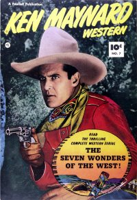 Large Thumbnail For Ken Maynard Western #7