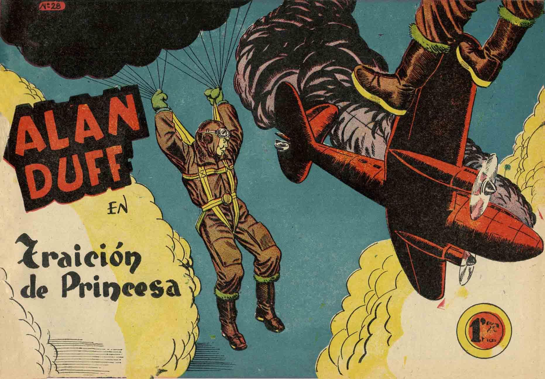 Comic Book Cover For Alan Duff 28 Traici�n De Princesa