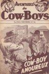 Cover For Aventures de Cow Boys 2 Le cow boy amoureux
