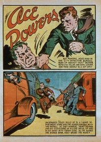 Large Thumbnail For Ace Powers Collection (Lev Gleason)