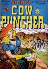 Cover For Cow Puncher Comics 4