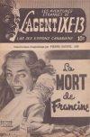 Cover For L'Agent IXE 13 v2 105 La mort de Francine