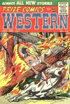 Cover For Prize Comics Western 114