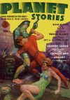 Cover For Planet Stories v1 12 The Thought Men of Mercury R. R. Winterbotham