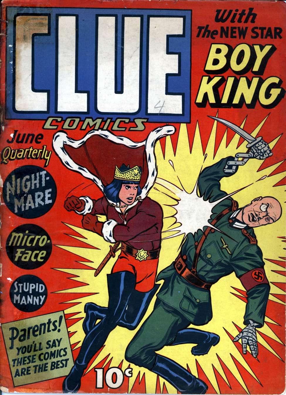 Comic Book Cover For Clue Comics v1 4 [4]