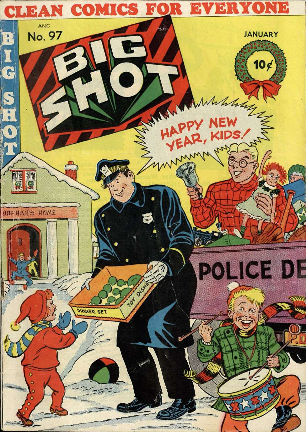 Comic Book Cover For Big Shot #97