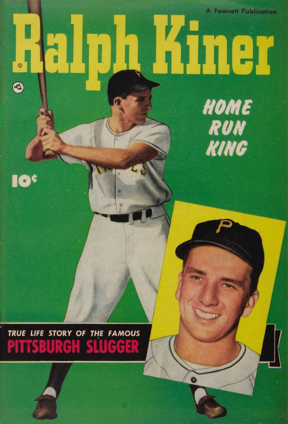 Comic Book Cover For Ralph Kiner, Home Run King [nn]