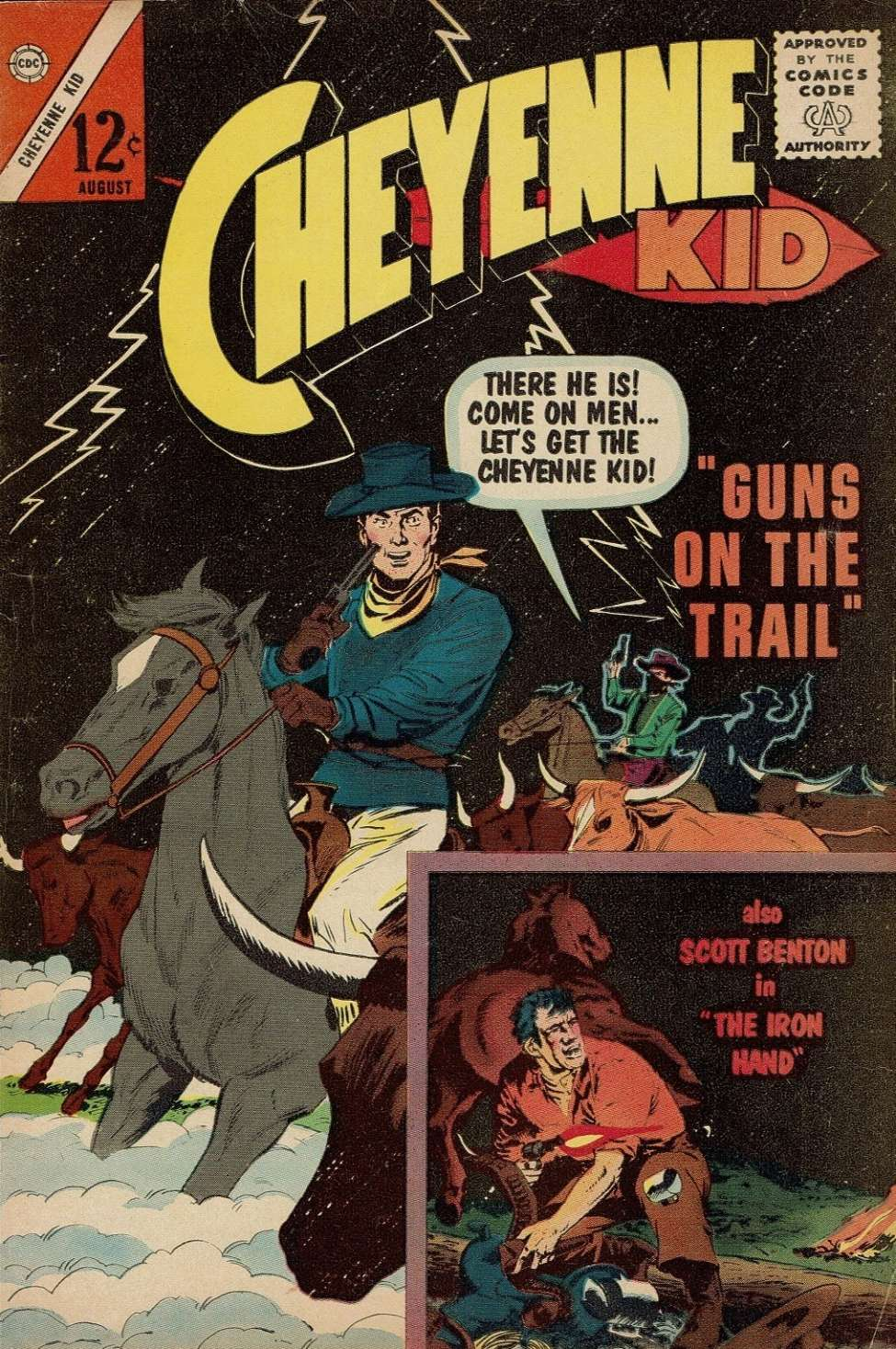 Comic Book Cover For Cheyenne Kid #41