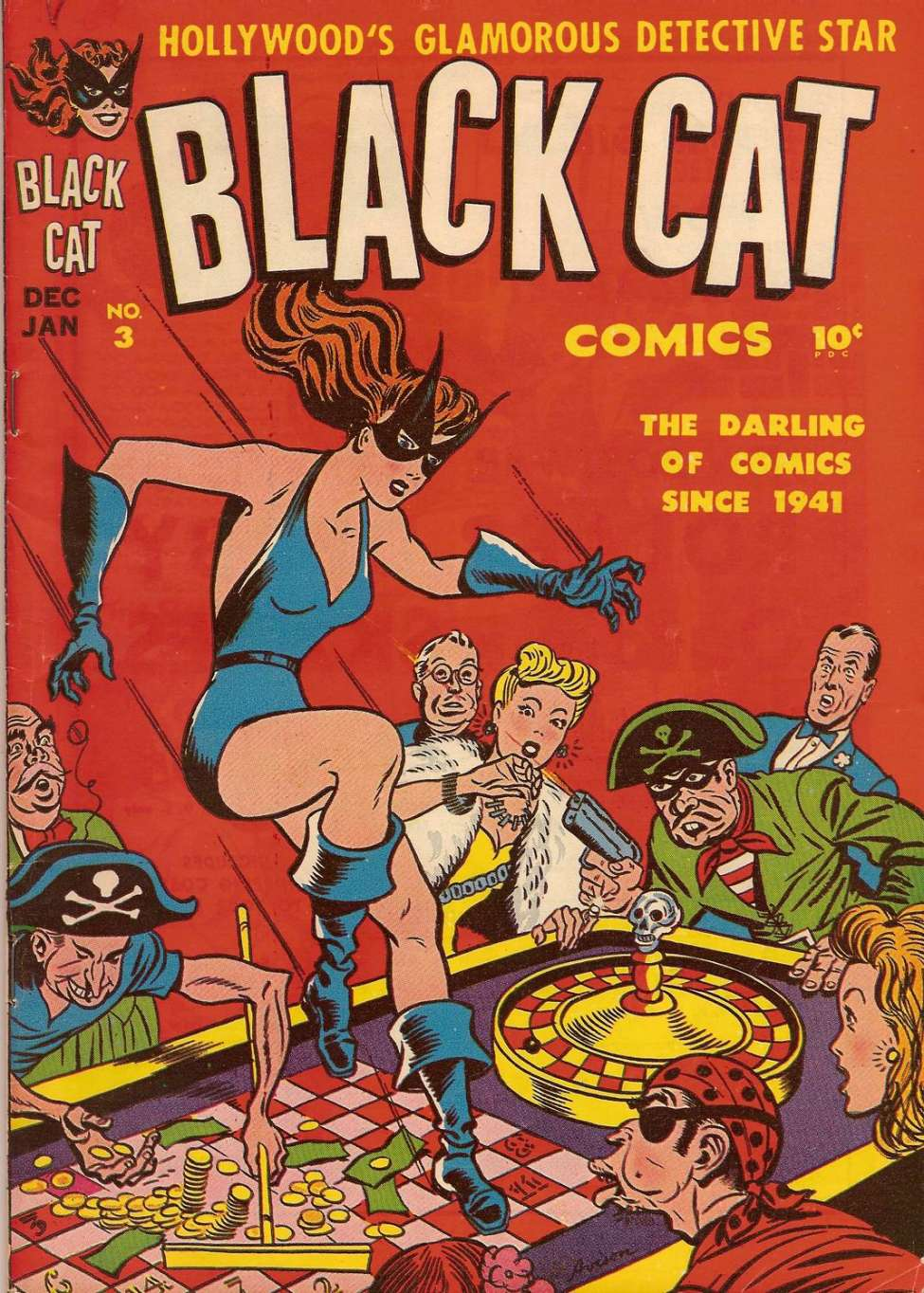 Comic Book Cover For Black Cat #3