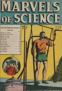 Large Thumbnail For Marvels of Science #2
