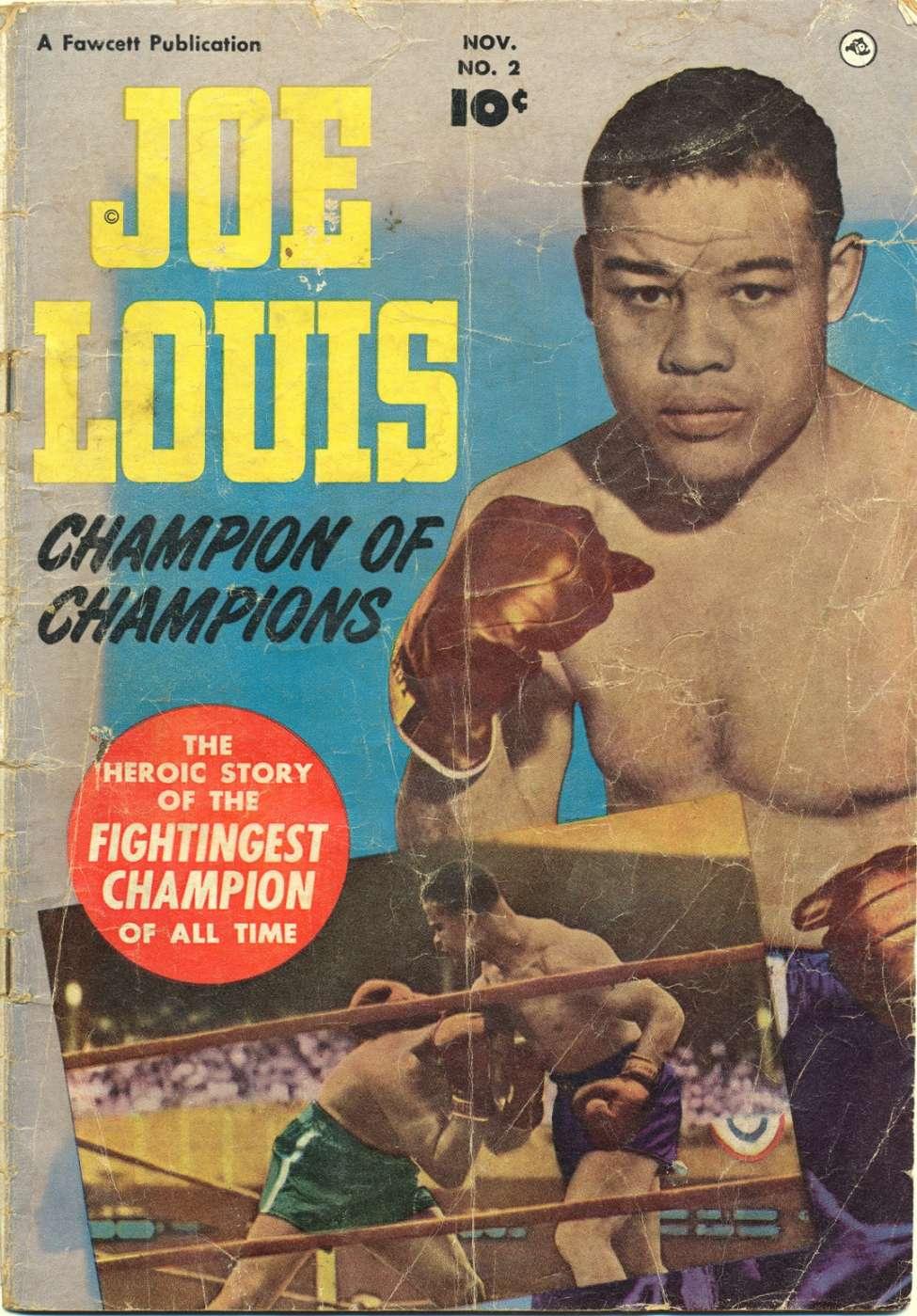 Comic Book Cover For Joe Louis #2