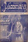 Cover For L'Agent IXE 13 v2 56 Le vol du collier de perles