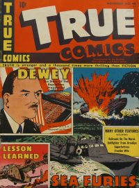Large Thumbnail For True Comics #40