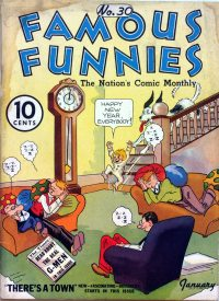 Large Thumbnail For Famous Funnies #30