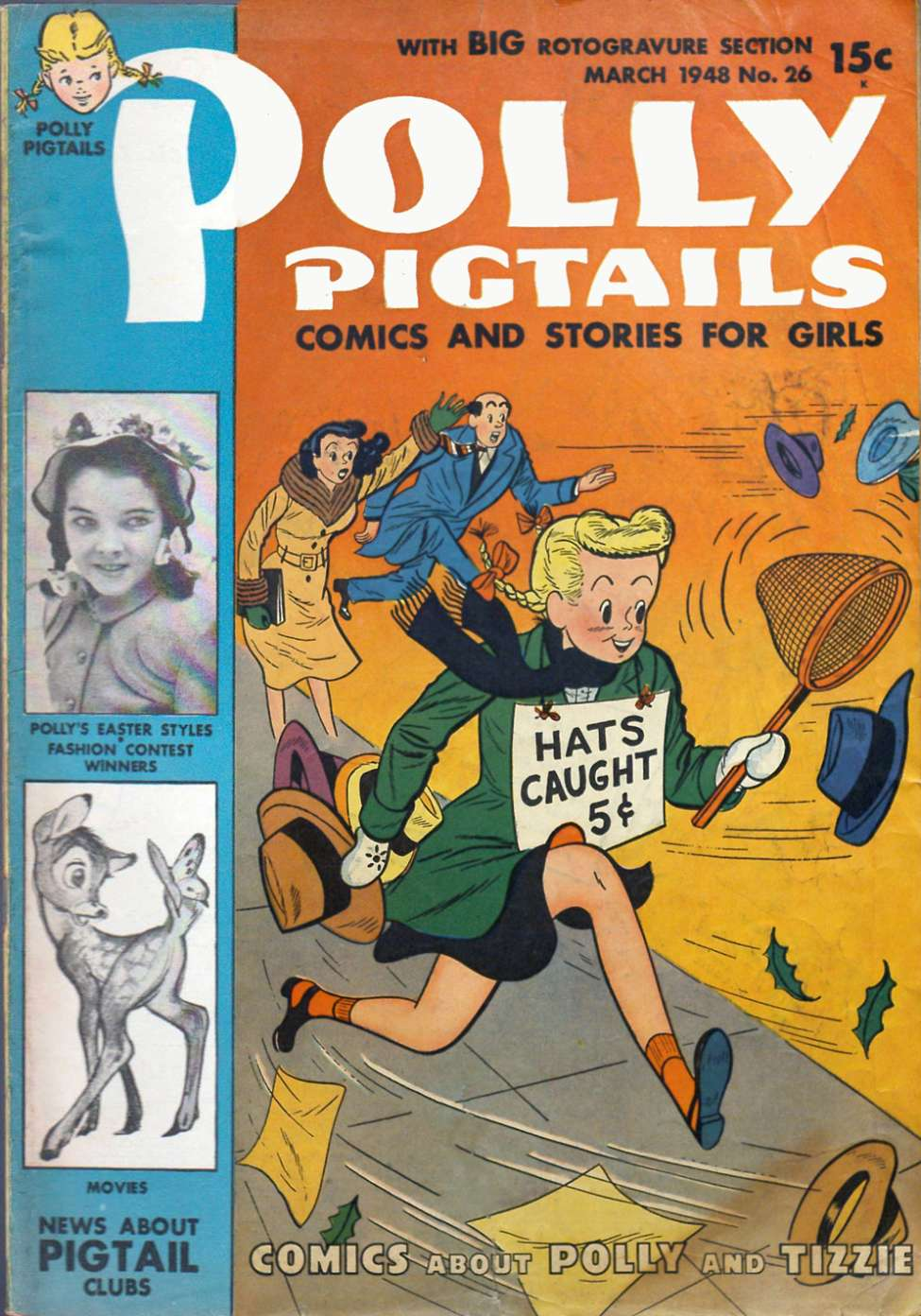 Comic Book Cover For Polly Pigtails #26