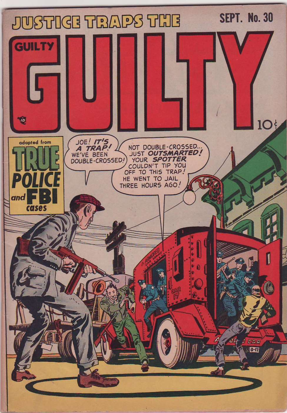 Comic Book Cover For Justice Traps the Guilty v4 12 (30)