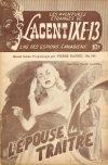 Cover For L'Agent IXE 13 v2 161 L'épouse du traître