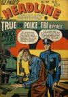 Cover For Headline Comics 32