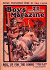 Cover For Boys' Magazine 489