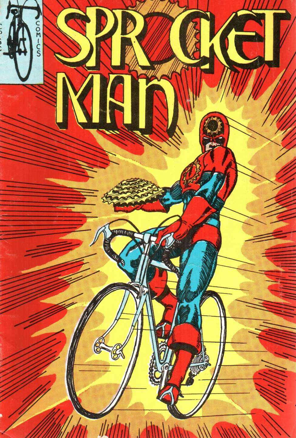 Comic Book Cover For Sprocket Man [nn]