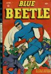 Cover For Blue Beetle 45