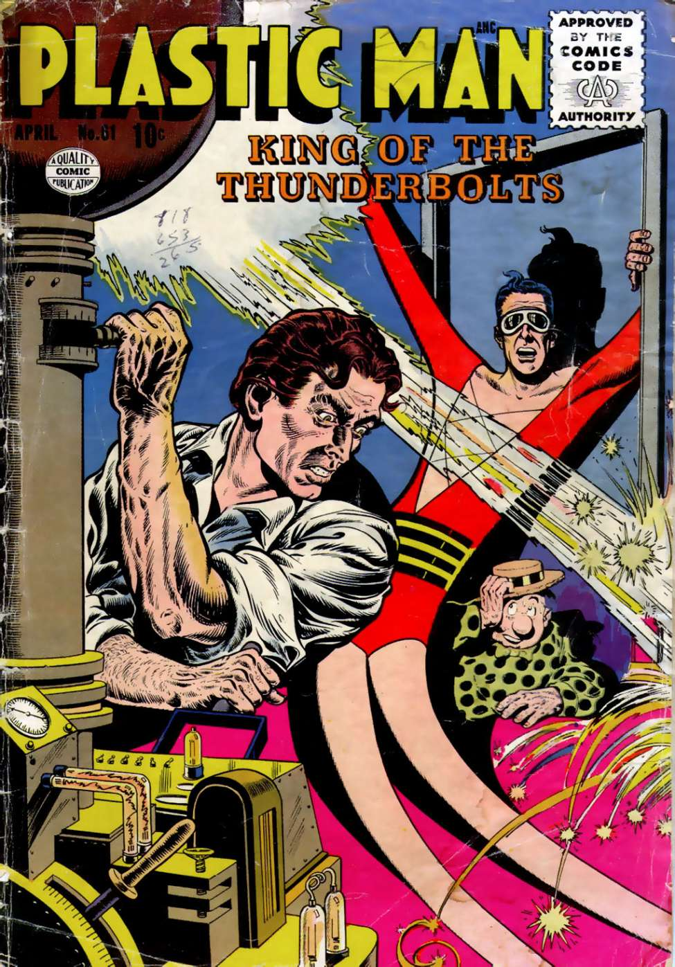 Comic Book Cover For Plastic Man #61 - Version 1