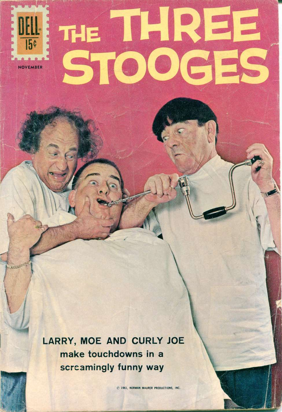 Comic Book Cover For The Three Stooges #6