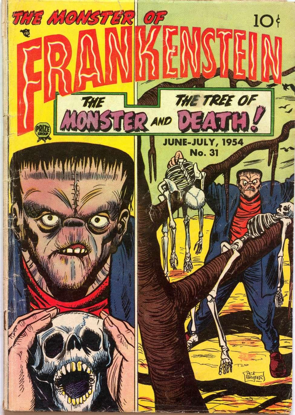 Comic Book Cover For Frankenstein v5 3 (31)