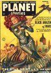 Cover For Planet Stories v4 11 Black Amazon of Mars Leigh Brackett